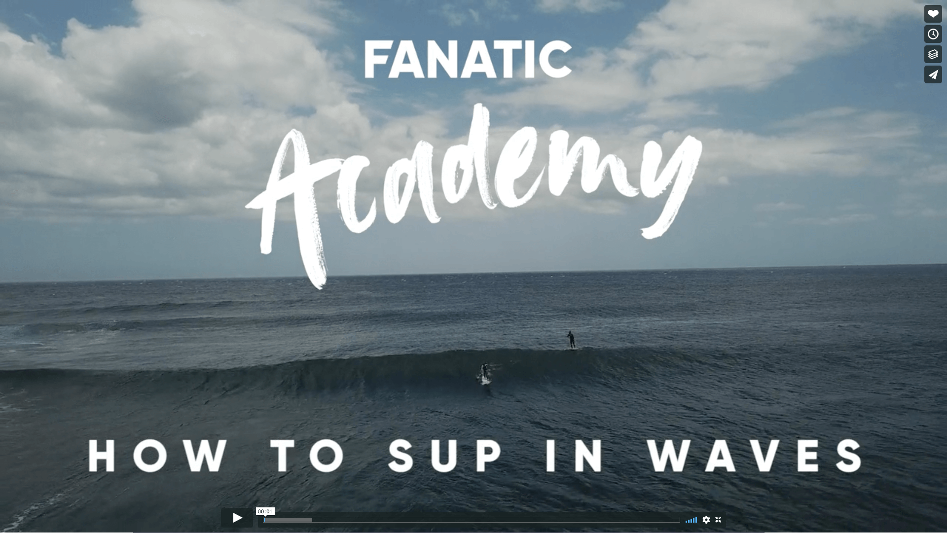 Fanatic SUP Academy - Wave SUP