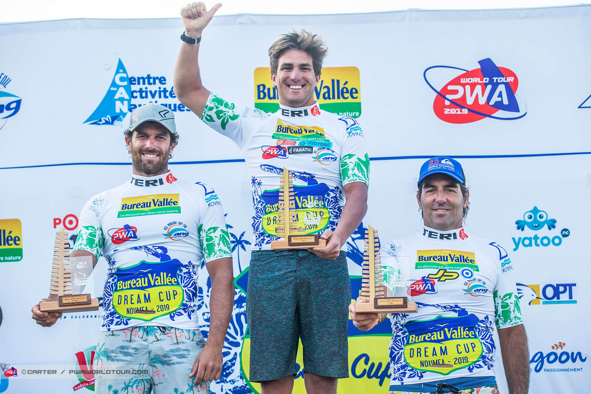 NC19 ls PWA Noumea top three men